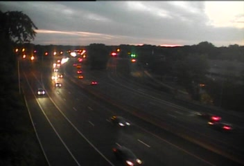 Traffic Cam CAM 6 Greenwich I-95 NB Exit 4 - Indian Field Rd. - Northbound