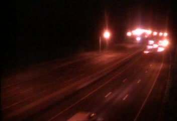 Traffic Cam CAM 34 Westport I-95 SB S/O Exit 18 - S/O Sherwood Is. Connector - Southbound