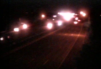 Traffic Cam CAM 135 New Haven I-91 NB Exit 8 Underpass - Rt. 80 (Middletown Ave.) - Northbound
