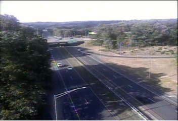 Traffic Cam CAM 181 Norwich I-395 SB Exit 13 - Rt. 2 & Rt. 32 - Southbound